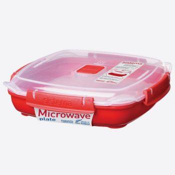 Sistema Microwave plat moyen 880ml (par 6pcs)