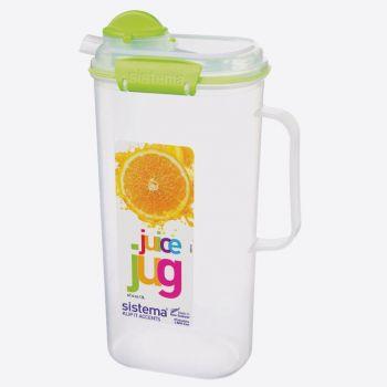 Sistema Accents pichet pour jus de fruits Juice 2L (4 ass.)