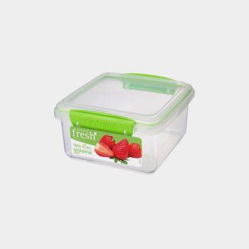Sistema Fresh boîte de conservation rectangulaire vert 1.2L (par 6pcs)