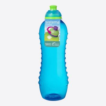 Sistema Lunch bouteille Twist n Sip bleu 620ml (par 12pcs)
