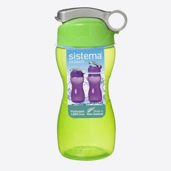 Sistema Hydrate bouteille Hourglass vert citron 475ml (par 6pcs)