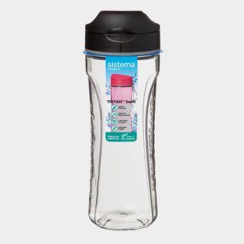 Sistema Hydrate bouteille Tritan Swift noir 600ml (par 6pcs)