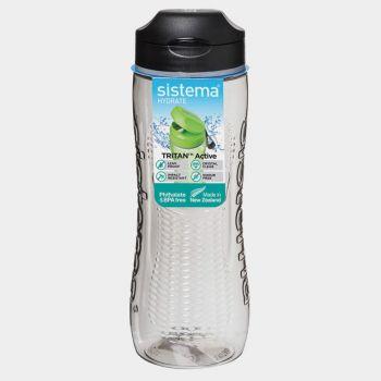 Sistema Hydrate bouteille Tritan Active noir 800ml (par 6pcs)