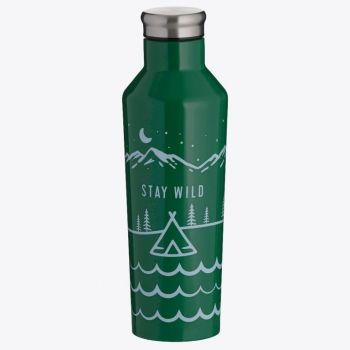 Typhoon Pure bouteille isotherme double paroi en inox Stay Wild 500ml