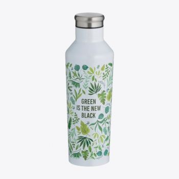 Typhoon Pure bouteille isotherme double paroi en inox Green Is The New Black 500ml