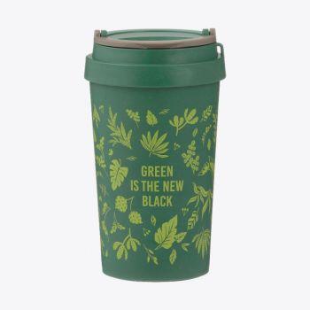 Typhoon Pure tasse de voyage en fibre de blé Green Is The New Black 380ml