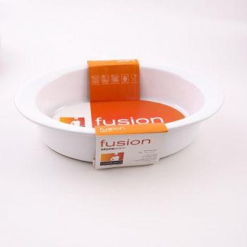 Vista Alegre Fusion plat ovale blanc 29x20x6cm
