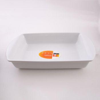 Vista Alegre Ligne Cuisine plat rectangulaire blanc 42cm