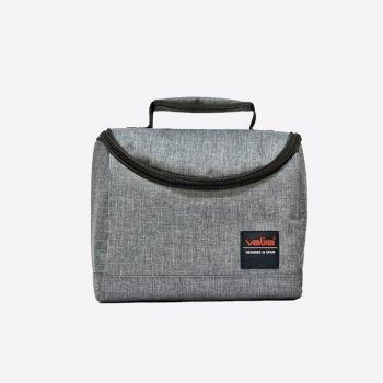 Valira Duo sac isotherme rectangulaire avec poignée gris 12x20x18cm