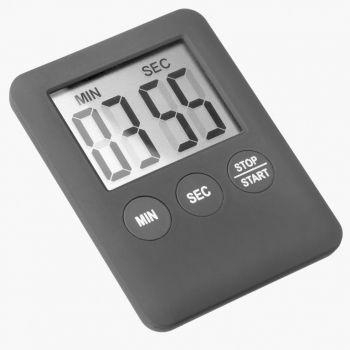 Westmark minuteur digital avec aimant noir 7x5.3x0.8cm