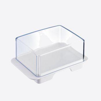 Westmark Exclusiv beurrier en matière synthétique blanc 14.3x9.4x6.4cm
