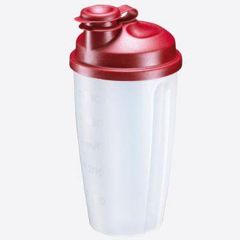 Westmark Mixery shaker à vinaigrette en matière synthétique rouge 500ml