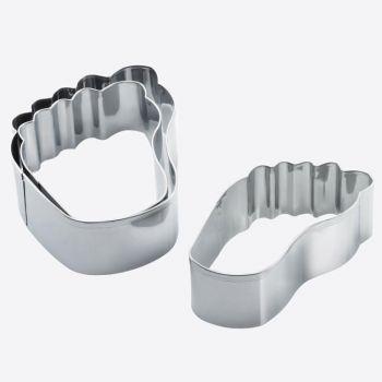 Westmark set de 3 emporte-pièces pour biscuits en rvs pied 6.5; 8 en 11cm