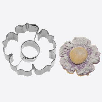 Westmark emporte-pièce en inox 2D fleur 6x6x2.2cm