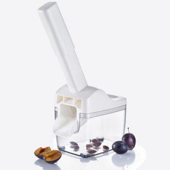 Westmark Steinfix dénoyauteur de prune avec réservoir blanc 17.5x11x33.7cm