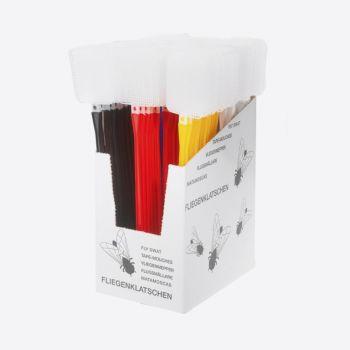 Westmark Traditionell tapette à mouche noir; rouge ou jaune (100pcs/disp.)