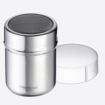 Westmark saupoudreur de sucre/farine en rvs avec couvercle Ø 6.2cm H 8.2cm