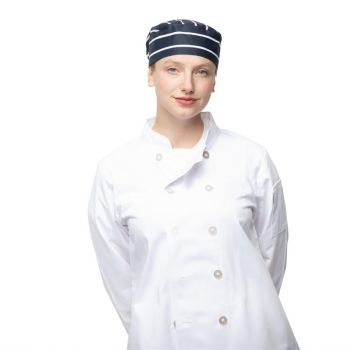 Calot de cuisine Whites rayures