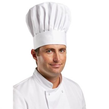 Toque de chef Whites Tallboy M
