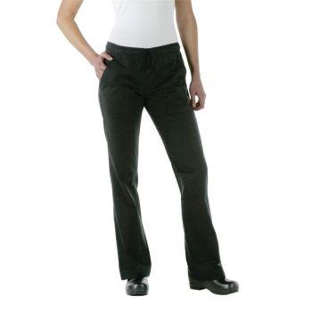 Pantalon de cuisine femme Chef Works Executive noir L