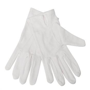 Gants de service pour femme blancs L/XL