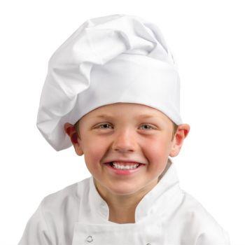 Toque de chef enfant Whites blanche