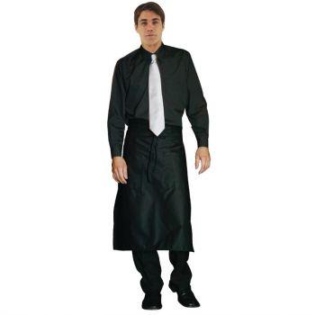 Chemise habillée mixte Uniform Works noire XL