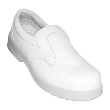 Mocassins de sécurité Lites blancs 45