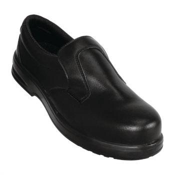 Mocassins de sécurité Lites noirs 45