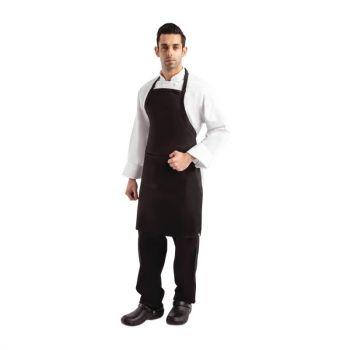 Tablier bavette Chef Works noir