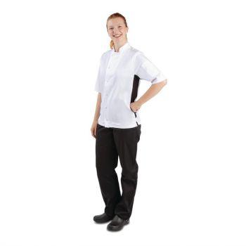 Veste de cuisine mixte Whites Nevada blanche L