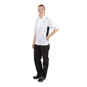 Veste de cuisine mixte Whites Nevada blanche S