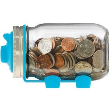 Jar Ware Attachment Moneybox for Mason Jars (excluding Pot)