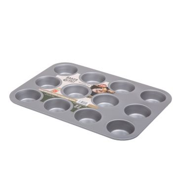 Wham Baker & Salt Non-Stick Tin for 12 Muffins