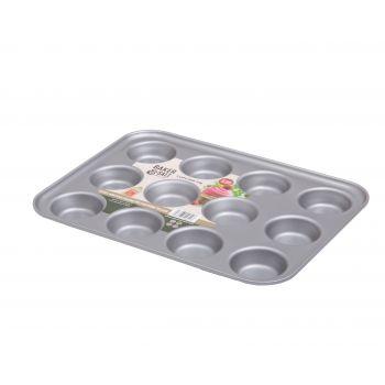 Wham Baker & Salt Non-Stick Tin for 12 Cupcakes