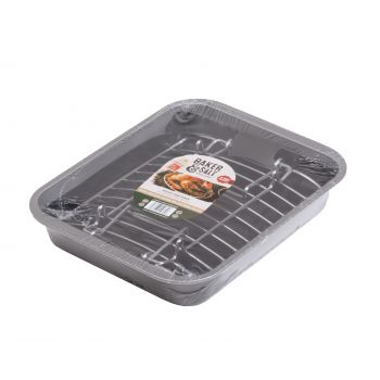 Wham Baker & Salt Non-Stick Oven Dish with Grill