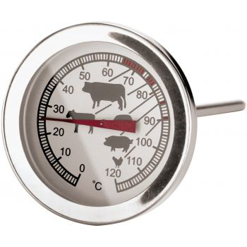 Paderno Thermometer for Meat 5 cm, 120 degrees, 1 degree accurate