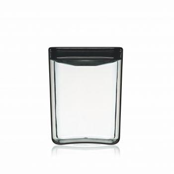 ClickClack Vershoudbox Getint Koffie/thee - 1000 gram - Zwart