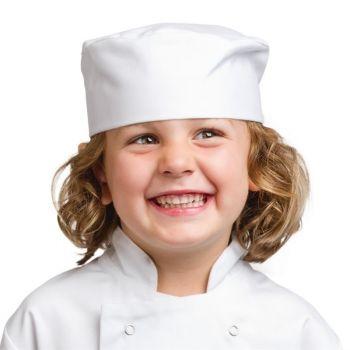 Calot de cuisine enfant Whites blanc S