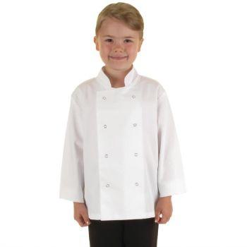 Veste de cuisine enfant Whites blanche S/M