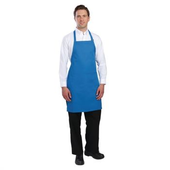 Tablier bavette Chef Works bleu