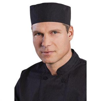 Calot de cuisine Cool Vent Chef Works finement rayé