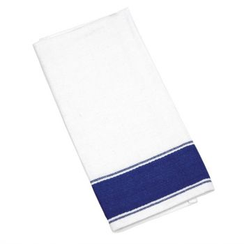 Serviettes Gastro avec bordure bleue Olympia