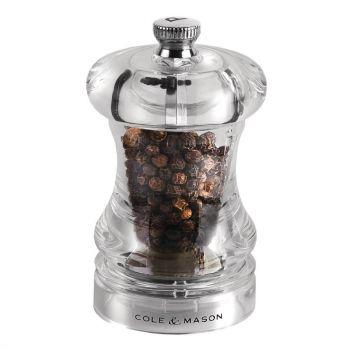 Moulin à poivre acrylique Cole & Mason Capstan