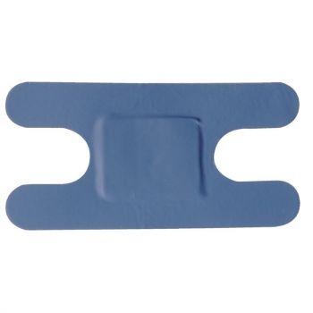 Pansements bleus assortis