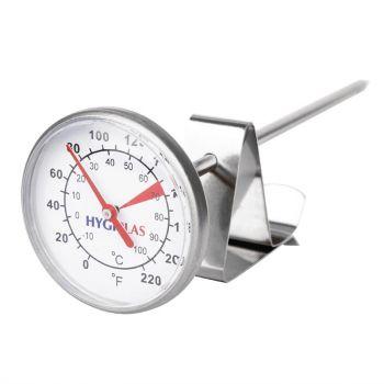 Thermomètre à café et à lait 125mm