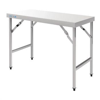 Table pliante inox Vogue 1200mm