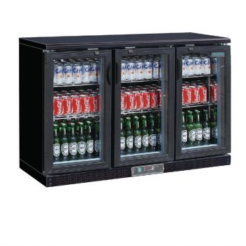 Arrière-bar noir 273 bouteilles Polar Série G
