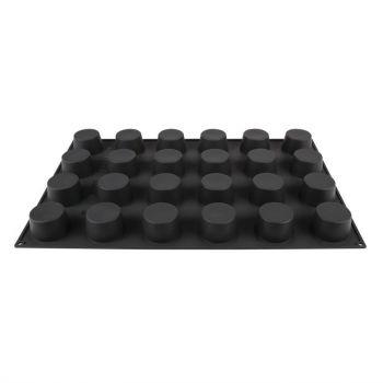 Moule à pâtisserie antiadhésif en silicone Pavoflex 24 muffins