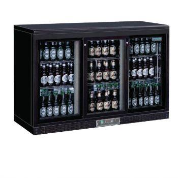 Arrière-bar portes coulissantes 273 bouteilles Polar Série G